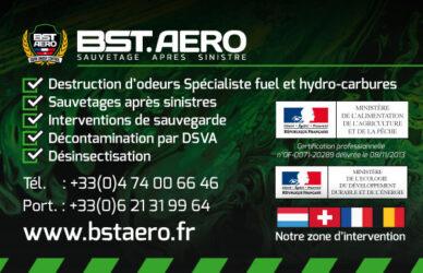 Encart annonceur BST Aero