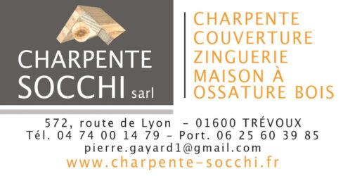 Encart annonceur Charpente Socchi