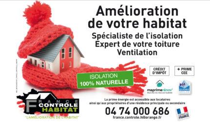 Encart annonceur France Contrôle habitat