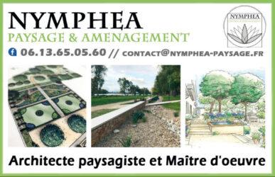 Encart annonceur Nymphéa paysage et aménagement