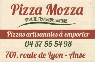 Encart annonceur Pizza Mozza