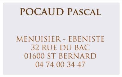 Encart annonceur Pocaud Pascal