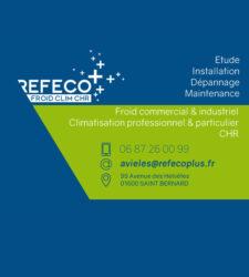 Encart annonceur Refeco Froid clim CHR